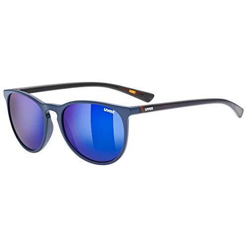 uvex Unisex– Erwachsene, lgl 43 Sonnenbrille, blue havanna/blue, one size