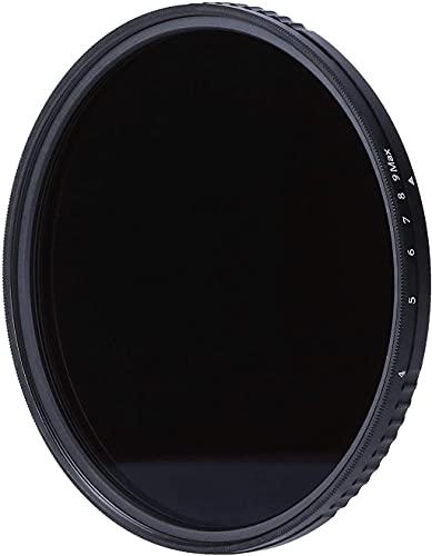 Rollei Variabler F:X Pro ND8 bis ND512 Rundfilter, aus Gorilla ® Glas mit 3-9 Blendenstufen Verdunkelung