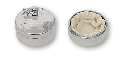 Caja RATONCITO PÉREZ de acero para dientes de leche. Dakota. 1 unidad