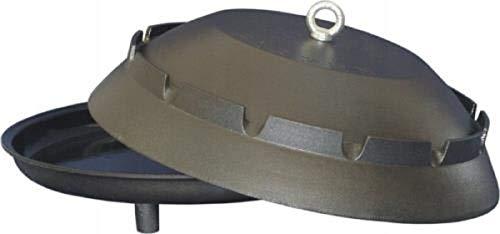 QLS grillkessel pannenketel van grijs gietijzer pan kookpot vuurpot grillpot