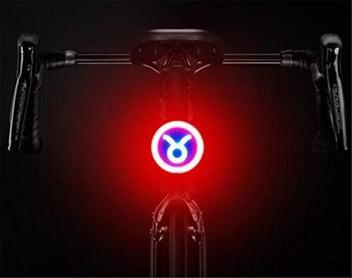 Shengtangb Fietslamp, led-fietsverlichting, USB-oplaadbaar, waterdicht, voorlamp voor fiets