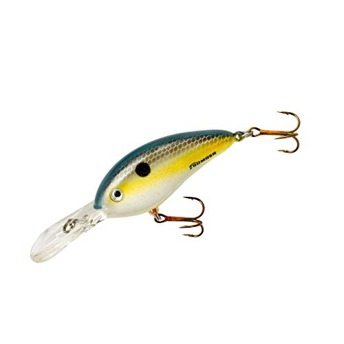 Bomber Lures Fat Free Shad Crankbait Bass...