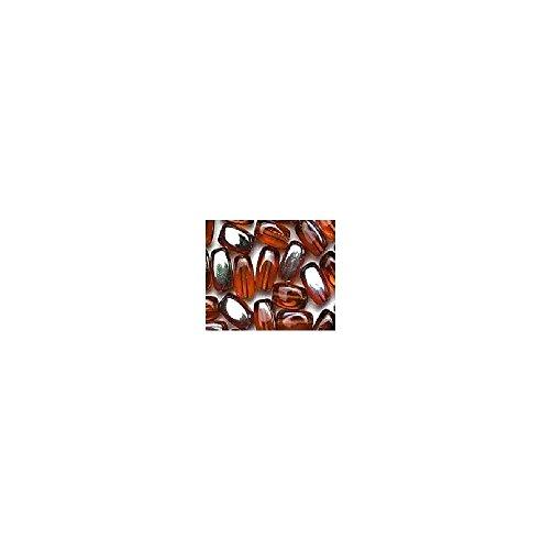 Riz perles 6 mm tubes 85 pièces couleur 9980 Bronze