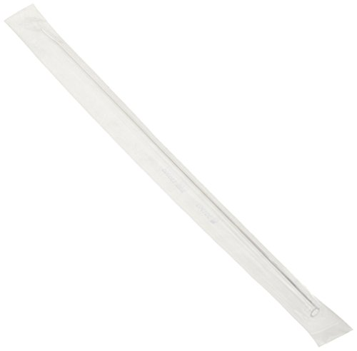 Globe Scientific 1834 Polystyrene Aspirating Pipette, 2mL Capacity, Standard Tip, 278mm Length, Sterile, No Printing, Individually Wrapped (Case of 800)