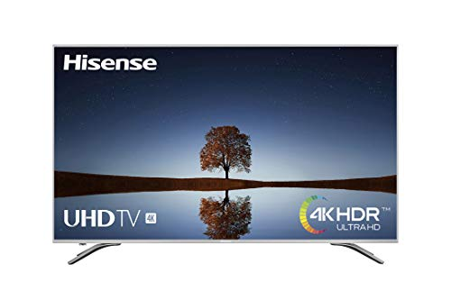 Hisense H50A6500, TV 4K Ultra HD, HDR, Precision Color, Super Contraste, Remote Now, Smart TV VIDAA U, Diseño Metálico, Modo Deportes, WiFi/Ethernet/USB, 50