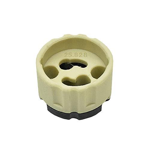 GZ10 Halogenlampenfassung für Hochvolt Lampen Fassung mit Steckanschluss - hochwertige Qualität geprüft