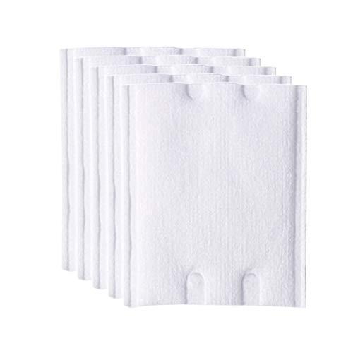 30pcs tampons de coton de maquillage, tampon décapant de fond de teint en poudre double face 3 couches