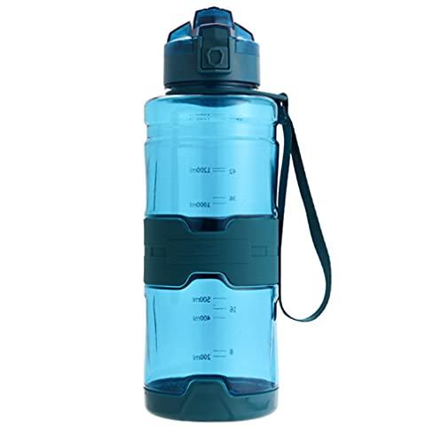 Botellas Agua Libre De BPA Tour deportivo Al Aire Libre Botella Bebida PortáTil Prueba Fugas Botella Té de Fruta PláStico EcolóGico Botella Agua Para Acampar Al Aire Libre Picnic Escalada verde