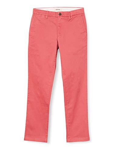 Marca Amazon - Goodthreads – «El pantalón chino perfecto»; pantalón chino de corte entallado, lavado, cómodo y elástico para hombre