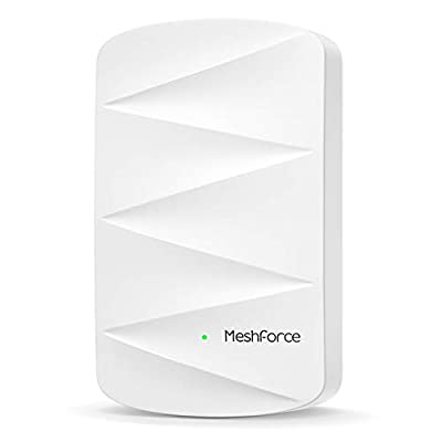 MeshForce Whole Home Mesh WiFi System - Dual Band WiFi System Router Replacement and Wall Plug Extenders - High Performance Wireless Coverage