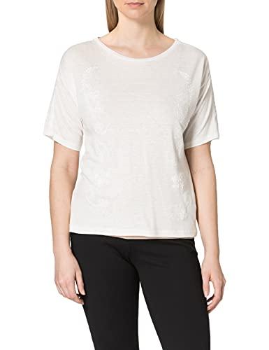 Desigual TS_Clementine Camiseta, Blanco, M para Mujer