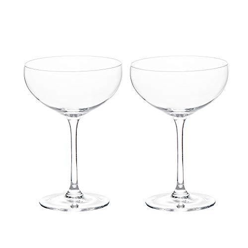 ProCook - Lot de Coupes à Champagne en Cristal - 2 Pièces