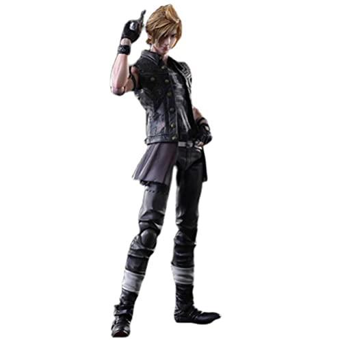 YLJXXY Action Figur Final Fantasy 15 Prompto Anime Action Figure 25cm PVC Kollektion Modell Charakter Statue Spielzeug Actionfiguren