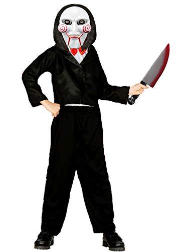 Disfraz de Marioneta Asesina infantil - Niño, 10-12 años