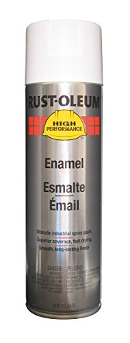 Rust-Oleum High Performance V2192838 Enamel Spray Paint- Gloss White, 6-Pack