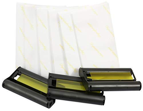 Printing Saver KP-108IN 3 Druckerkartuschen & Papier - 108 Blatt - Postkarten-Größe - kompatibel für Canon Selphy CP780 CP790 CP800 CP810 CP910 CP1000 CP1200 CP1300