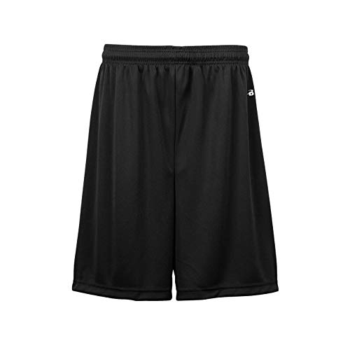 Black Adult Medium (Blank) All Sports Shorts