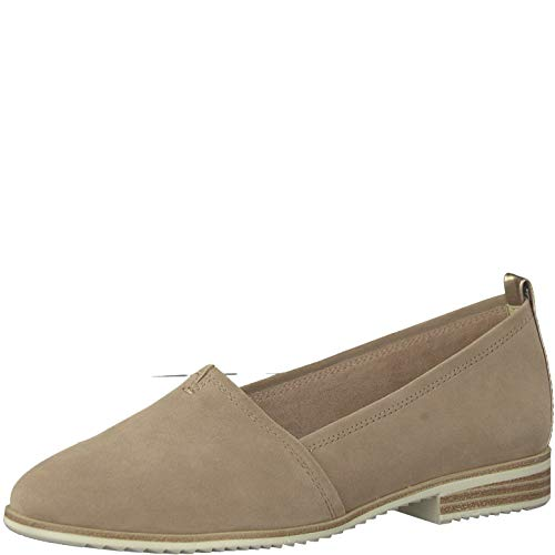 Tamaris 1-1-24205-22 Damen Slipper,Schlüpfschuh,Slip-on,modisch,Freizeitschuh,Touch-IT,Old Rose Suede,39 EU