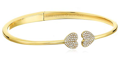 Kate Spade New York Heart to Heart Open Hinged Cuff