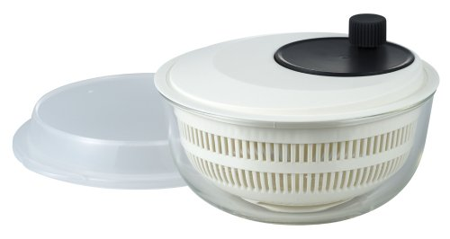iwaki salad spinner [heat-resistant glass bowl] K345SS (japan import) by Iwaki