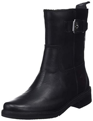 Timberland Damen Mont Chevalier' Biker Boots, Schwarz (Jet Black Eurovintage 15), 40 EU