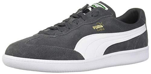 Puma Liga Suede Tenis para hombre, Gris (Iron Gate-puma Color blanco), 40.5 EU