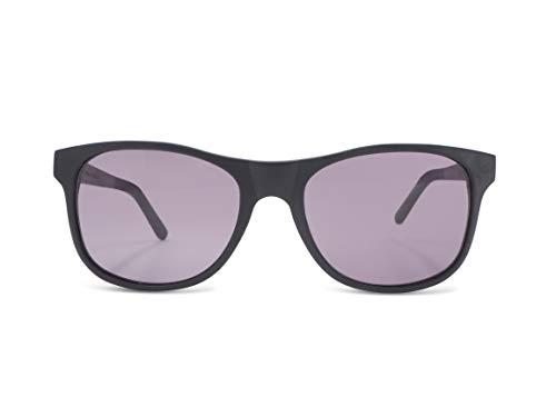 CWA Design Lennox Black Oak, dunkle Eiche Holz Sonnenbrille UV400, handgefertigte Unisex Damen und Herren Brille, kratzfeste Holzbrille mit Etui
