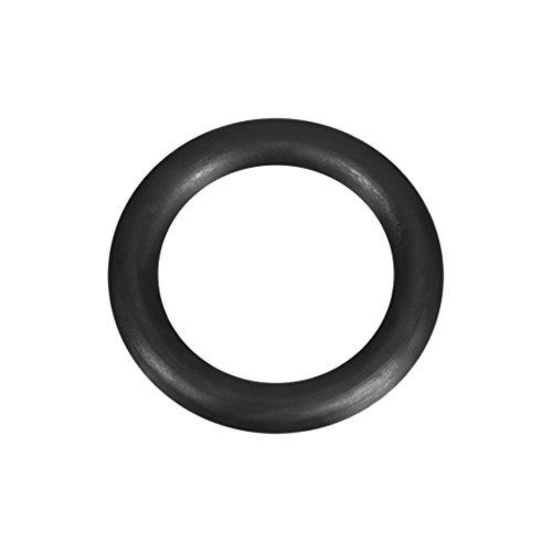 sourcing map Nitrile Rubber O-Rings 14mm OD 10mm ID 2mm Width, Metric Buna-N Sealing Gasket, Pack of 50
