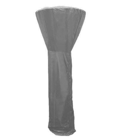 HBCOLLECTION Housse Respirante 225cm pour Parasol Chauffant de terrasse extérieur brazero Polyester Gris