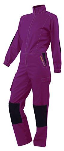 FASHION SECURITE 660524 Pep's mono de trabajo Talla XL Violeta/Negra