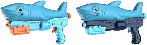 Los tiburones de lujo son juguetes para nios con caones de agua de gran capacidad 800 CC y un gran alcance, seguros y duraderos.