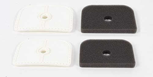 Husqvarna 2 Pack 576401601 & 577851501 Air Filters for 525L 525LS 525LST 525RJD