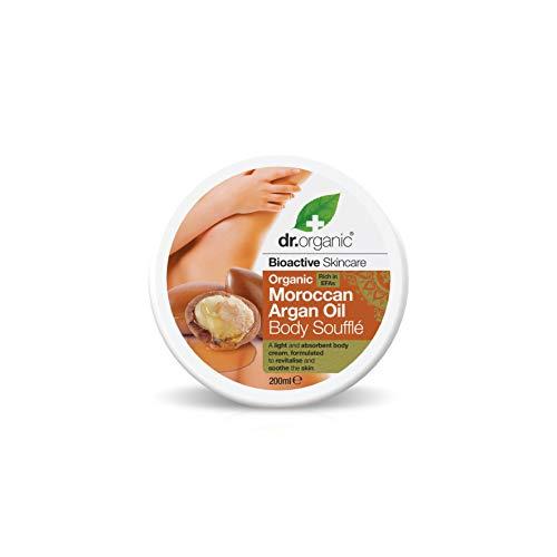 Dr Organic Manteca para el Cuerpo Moroccan Argan Oil 200 ml