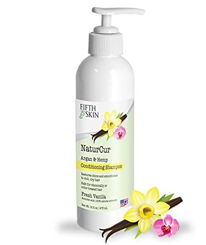 Fifth & Skin NaturCur (FRESH VANILLA) Argan & Hemp Conditioning Shampoo