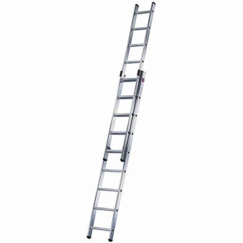 Hailo Escalera Corredera 2 Tramos Aluminio Duo (2X9 Peldaños)