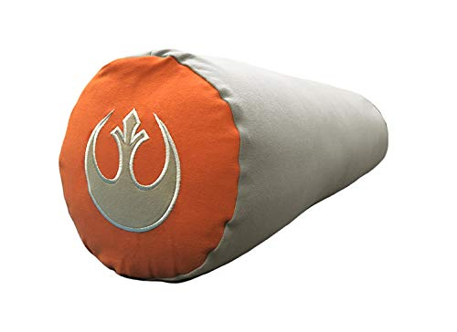 roll pillow for kids Yogibo Star Wars Buddy Roll Body Pillow, Multi-Purpose for Side Sleeping, Pregnancy, Sitting, Conveniently Sized for Adults and Kids, Rebel