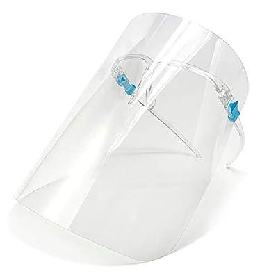 Clear Dental Face Shield Medical Reusable Plastic Face Shield Safety Full Face Shield Protection Visor Anti Saliva