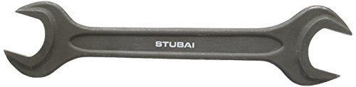 Stubai 20003032 Clef à fourche double din 895, 30x32 mm, Noir, 30 x 32 mm