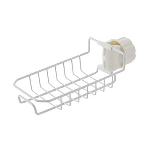Caja de almacenamiento para cocina, almuerzo, bolsa de almacenamiento, bolsa de almacenamiento de alimentos y soporte para cepillo de esponja, estante para grifo, almacenamiento de drenaje en seco, caja de almacenamiento de cocina, blanco, HY