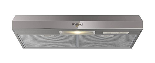 Whirpool WH-8010S – Campana Purificadora Emportrable, Color Acero, 80.01 x 12.50 x 47.80 cm