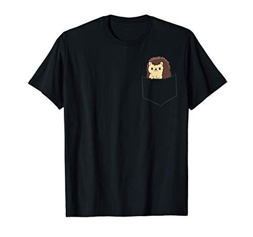 Erizo en el bolsillo Lindo erizo de bolsillo Camiseta
