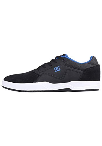 DC Shoes Herren Barksdale Skateboardschuhe, Schwarz (Black/Grey/Blue Xksb), 40 EU