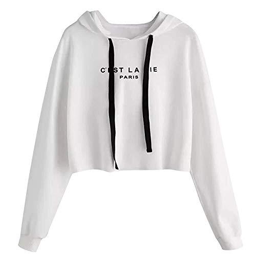 Les Jeunes Hommes Zipper à Sweat Capuche Hoodie Lourd Blend Spécial Style Tops Mode pour Hommes (Color : Blanc, Size : 2XL)