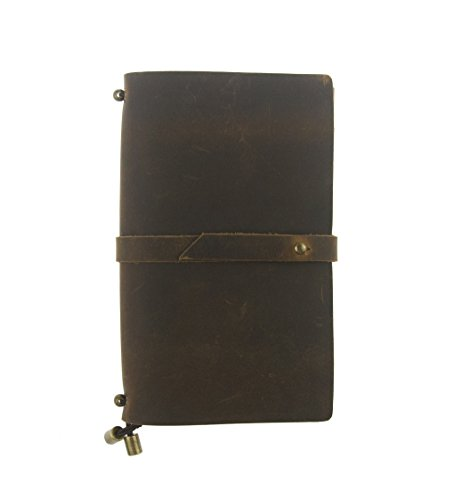 UNIQUE HM&LN Leather Planner Organizer - Academic Monthly Calendar &Weekly & Daily Journal to Achieve Goals Improve Productivity-Refillable&Handmade Passion Gifts Jan-Jun, Jul-Dec 2021