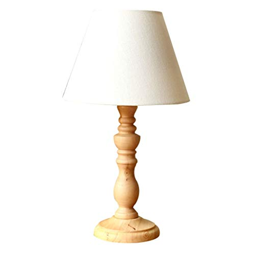 Lampe De Table Lampe De Table En Bois Élégante Lampe De Table De Salon Simple Lampe De Table De Chevet De Chambre À Coucher Lampe De Table D'étude Personnalisée A+