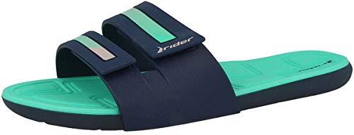 Rider Prana II FEM, Mules Femme, Multicolore Blue Green 8380, 35/36 EU