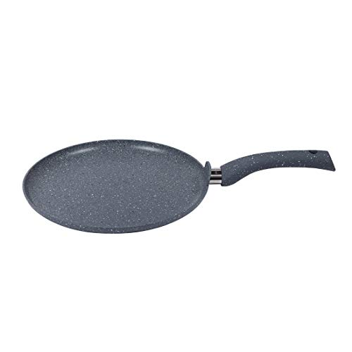 Wonderchef 60017710 Granite Non Stick tawa 28cm for dosa, rotis, Crepes, omlete, Pancakes, Aluminium