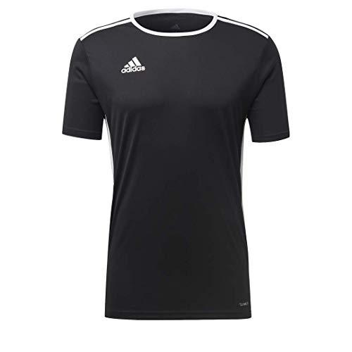 adidas Maillot Entrada 18 pour Homme, Noir/Blanc, Taille XL