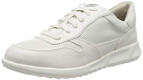 Tamaris Damen 1-1-23635-24 Sneaker, Weiß (White 100), 39 EU
