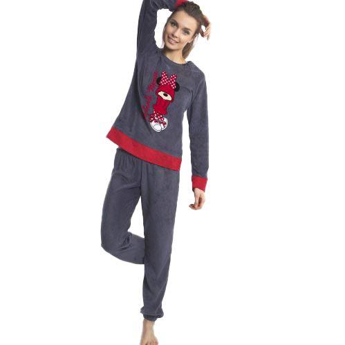 Disney - Pijama Mujer Minnie Attitude - Marengo, S